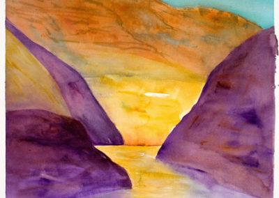 Canyon Lake Powell  12x16-