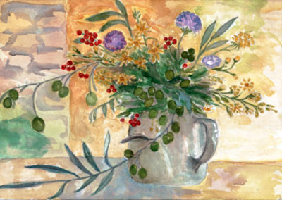 Tuscan Bouquet  10.5x7.5
