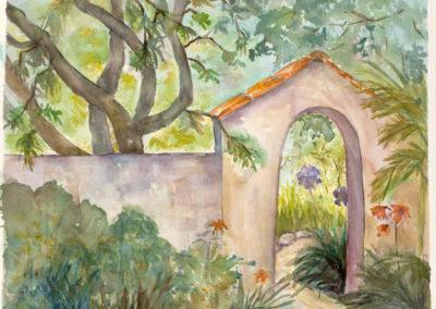 Garden Portal  16x12