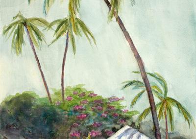 Plantation House, Kauai  11x14